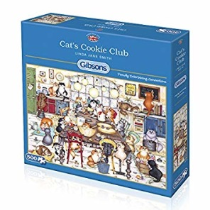 Gibsons Pussel - Cats Cookie Club -
