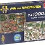 Jan van Haasteren - 2 pussel