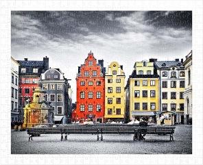 Pussel - Stockholm -