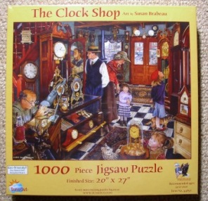 Susan Brabeau - The Clock Shop -