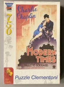 Pussel - Charlie Chaplin -