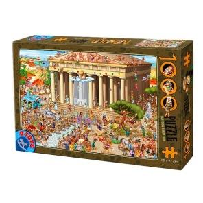 Pussel - Akropolis -