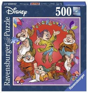 Beg. Pussel - The Seven Dwarfs -