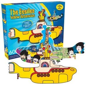 Pussel - Yellow Submarine -