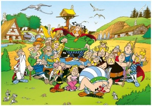 Beg. Pussel - Asterix The Village -