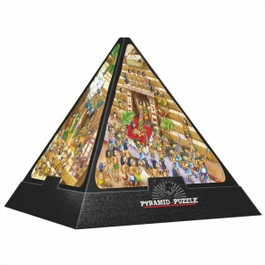 Beg. Pussel - Pyramid -