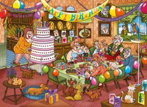 Wasgij - Birthday Suprice -