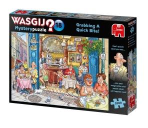 Wasgij - Grabbing A Quick Bite -
