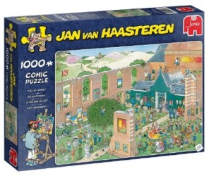 Jan van Haasteren - The Art Market -
