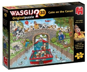 Wasgij - Calm on the Canal -