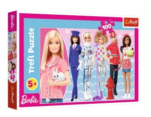 Barn Pussel - Barbie -