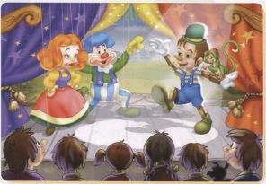 Barn Pussel - Pinocchio -