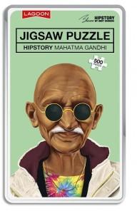 Pussel - Hipstory Mahatma Ghandi -