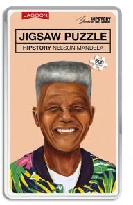 Pussel - Hipstory Nelson Mandela -