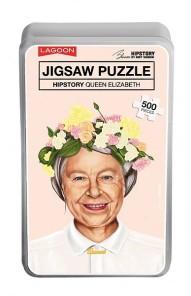 Pussel - Hipstory Queen Elizabeth -
