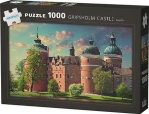 Pussel - Gripsholms Slott Sweden -