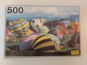 Beg. Pussel - Luftballonger -
