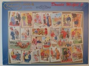 Beg. Pussel - Vintage Antics -