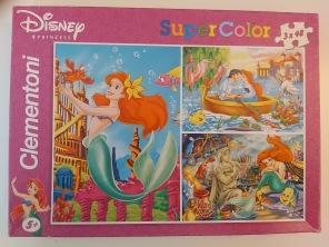 Beg. Pussel - Disney Princess -