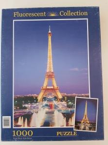 Beg. Pussel - Eiffeltornet -