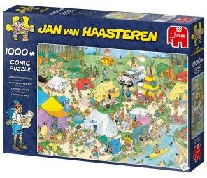 Jan van Haasteren - Camping In The Forest -