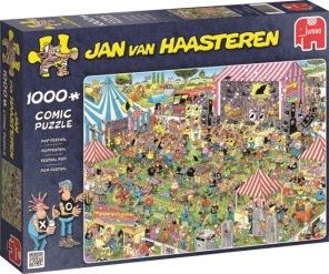 Jan van Haasteren - Pop Festival -