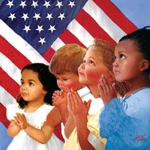 Pussel - Faith in Amerika -