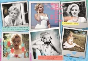 Pussel - Fotographs of Marilyn Monroe -
