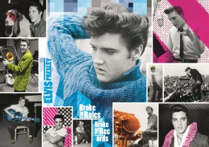 Pussel - Elvis Presley Forever Young -