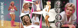 Pussel - Marilyn Monroe Collage -
