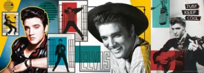 Pussel - Elvis Presley Collage -