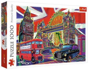 Pussel - Colours of London -