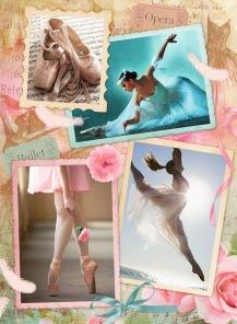 Pussel - Prima Ballerina -
