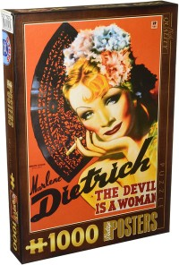 Pussel - Marlene Dietrich -
