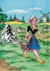 Pussel - Milk Maid -
