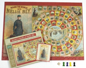 Pussel - Round the World with Nellie Bly -