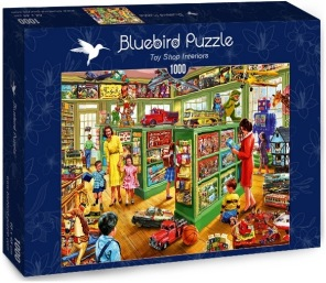 Pussel - Toy Shop Interiors -