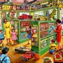 Pussel - Toy Shop Interiors