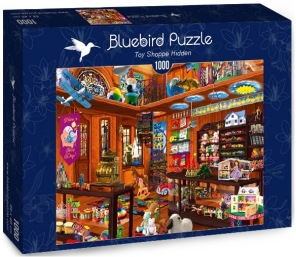 Pussel - Toy Shop Hidden -