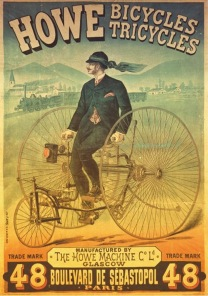 Pussel - Vintage Poster Bicycles -