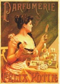 Pussel - Vintage Poster Parfumerie -