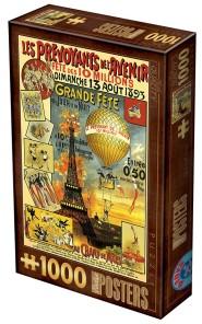 Pussel - Vintage Poster Paris -