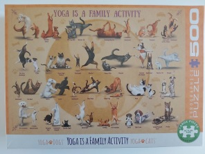 Pussel - Yoga is a Family Activity -