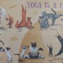 Pussel - Yoga is a Family Activity