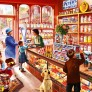 Pussel - Sweetshop
