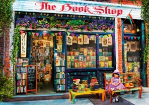 Pussel - The Bookshop -