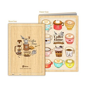 Puzzle Cover - Cafe Shop -
