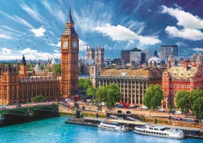 Pussel - Sunny Day in London -
