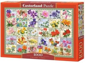 Pussel - Vintage Floral -