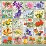 Pussel - Vintage Floral